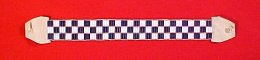 """All Are Related"" Wampum Leg Ties"